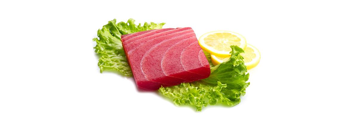gravid tonfisk på burk